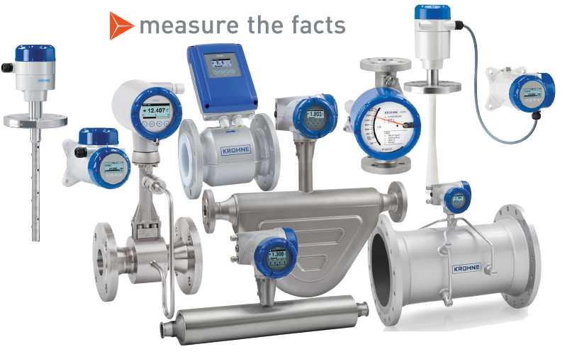 Krohne measurement devices
